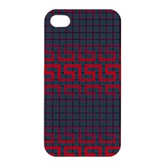Abstract Tiling Pattern Background Apple Iphone 4/4s Hardshell Case by Simbadda