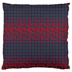 Abstract Tiling Pattern Background Large Cushion Case (one Side) by Simbadda