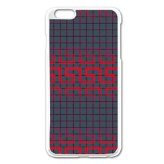 Abstract Tiling Pattern Background Apple Iphone 6 Plus/6s Plus Enamel White Case by Simbadda