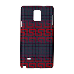 Abstract Tiling Pattern Background Samsung Galaxy Note 4 Hardshell Case by Simbadda