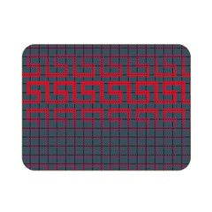 Abstract Tiling Pattern Background Double Sided Flano Blanket (mini)  by Simbadda