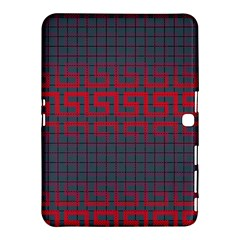 Abstract Tiling Pattern Background Samsung Galaxy Tab 4 (10 1 ) Hardshell Case  by Simbadda
