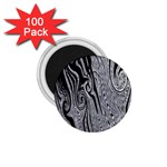 Abstract Swirling Pattern Background Wallpaper 1.75  Magnets (100 pack)  Front
