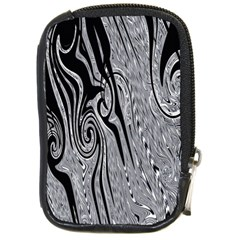 Abstract Swirling Pattern Background Wallpaper Compact Camera Cases by Simbadda