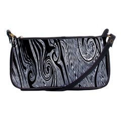 Abstract Swirling Pattern Background Wallpaper Shoulder Clutch Bags by Simbadda