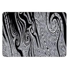 Abstract Swirling Pattern Background Wallpaper Samsung Galaxy Tab 8 9  P7300 Flip Case by Simbadda