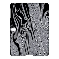 Abstract Swirling Pattern Background Wallpaper Samsung Galaxy Tab S (10 5 ) Hardshell Case  by Simbadda