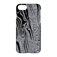 Abstract Swirling Pattern Background Wallpaper Apple Iphone 7 Hardshell Case by Simbadda