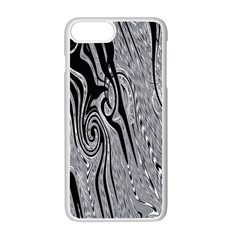 Abstract Swirling Pattern Background Wallpaper Apple Iphone 7 Plus White Seamless Case