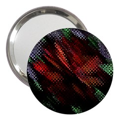 Abstract Green And Red Background 3  Handbag Mirrors by Simbadda