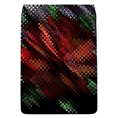 Abstract Green And Red Background Flap Covers (s)  by Simbadda