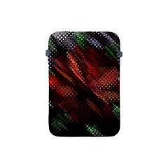 Abstract Green And Red Background Apple Ipad Mini Protective Soft Cases by Simbadda