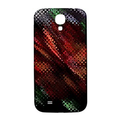 Abstract Green And Red Background Samsung Galaxy S4 I9500/i9505  Hardshell Back Case by Simbadda