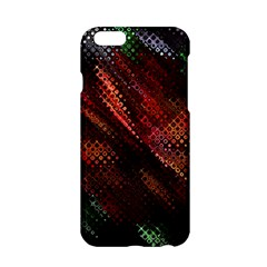Abstract Green And Red Background Apple Iphone 6/6s Hardshell Case by Simbadda
