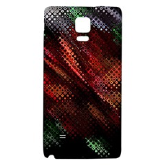 Abstract Green And Red Background Galaxy Note 4 Back Case by Simbadda