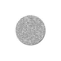 Abstract Knots Background Design Pattern Golf Ball Marker (10 Pack) by Simbadda