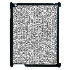 Abstract Knots Background Design Pattern Apple Ipad 2 Case (black) by Simbadda