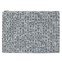 Abstract Knots Background Design Pattern Cosmetic Bag (xxl)  by Simbadda