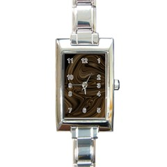 Abstract Art Rectangle Italian Charm Watch by Simbadda