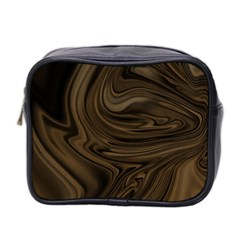 Abstract Art Mini Toiletries Bag 2 Side by Simbadda