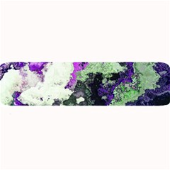 Background Abstract With Green And Purple Hues Large Bar Mats by Simbadda