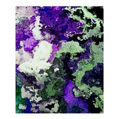 Background Abstract With Green And Purple Hues Shower Curtain 60  X 72  (medium)  by Simbadda