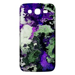 Background Abstract With Green And Purple Hues Samsung Galaxy Mega 5 8 I9152 Hardshell Case  by Simbadda