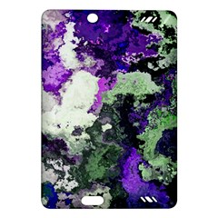 Background Abstract With Green And Purple Hues Amazon Kindle Fire Hd (2013) Hardshell Case by Simbadda