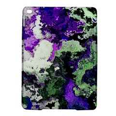 Background Abstract With Green And Purple Hues Ipad Air 2 Hardshell Cases by Simbadda
