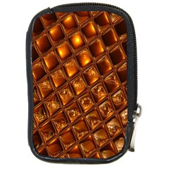 Caramel Honeycomb An Abstract Image Compact Camera Cases by Simbadda