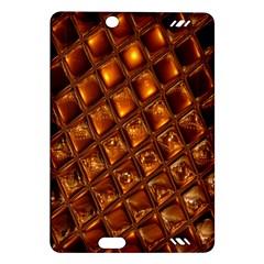 Caramel Honeycomb An Abstract Image Amazon Kindle Fire Hd (2013) Hardshell Case by Simbadda