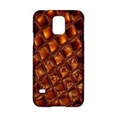 Caramel Honeycomb An Abstract Image Samsung Galaxy S5 Hardshell Case  by Simbadda