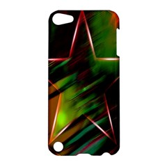 Colorful Background Star Apple Ipod Touch 5 Hardshell Case by Simbadda