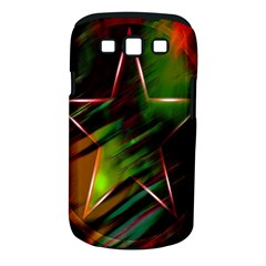 Colorful Background Star Samsung Galaxy S Iii Classic Hardshell Case (pc+silicone) by Simbadda
