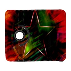Colorful Background Star Galaxy S3 (flip/folio) by Simbadda