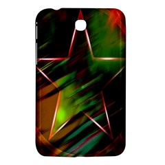 Colorful Background Star Samsung Galaxy Tab 3 (7 ) P3200 Hardshell Case  by Simbadda
