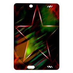 Colorful Background Star Amazon Kindle Fire Hd (2013) Hardshell Case by Simbadda