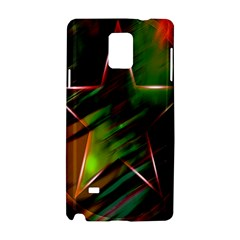 Colorful Background Star Samsung Galaxy Note 4 Hardshell Case by Simbadda