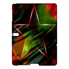 Colorful Background Star Samsung Galaxy Tab S (10 5 ) Hardshell Case  by Simbadda