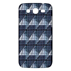 Snow Peak Abstract Blue Wallpaper Samsung Galaxy Mega 5 8 I9152 Hardshell Case  by Simbadda