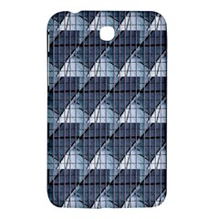 Snow Peak Abstract Blue Wallpaper Samsung Galaxy Tab 3 (7 ) P3200 Hardshell Case  by Simbadda