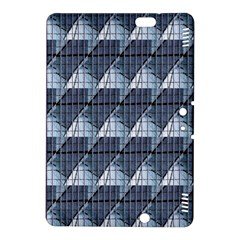 Snow Peak Abstract Blue Wallpaper Kindle Fire Hdx 8 9  Hardshell Case by Simbadda