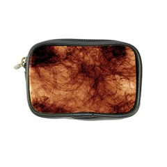Abstract Brown Smoke Coin Purse by Simbadda