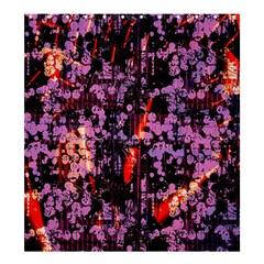 Abstract Painting Digital Graphic Art Shower Curtain 66  X 72  (large)  by Simbadda