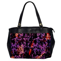 Abstract Painting Digital Graphic Art Office Handbags by Simbadda