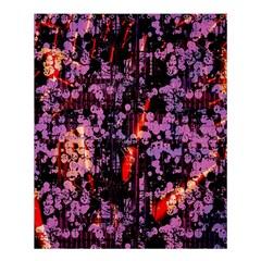 Abstract Painting Digital Graphic Art Shower Curtain 60  X 72  (medium)  by Simbadda
