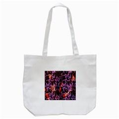 Abstract Painting Digital Graphic Art Tote Bag (white) by Simbadda
