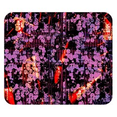 Abstract Painting Digital Graphic Art Double Sided Flano Blanket (small)