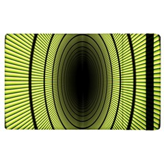 Spiral Tunnel Abstract Background Pattern Apple Ipad 3/4 Flip Case by Simbadda