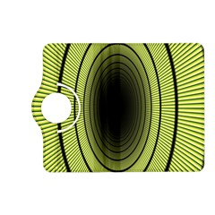 Spiral Tunnel Abstract Background Pattern Kindle Fire Hd (2013) Flip 360 Case by Simbadda
